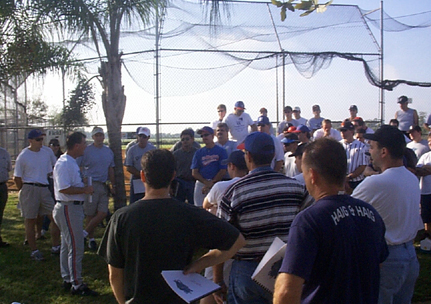 Keady Baseball Coaches Clinic Wellington, Florida